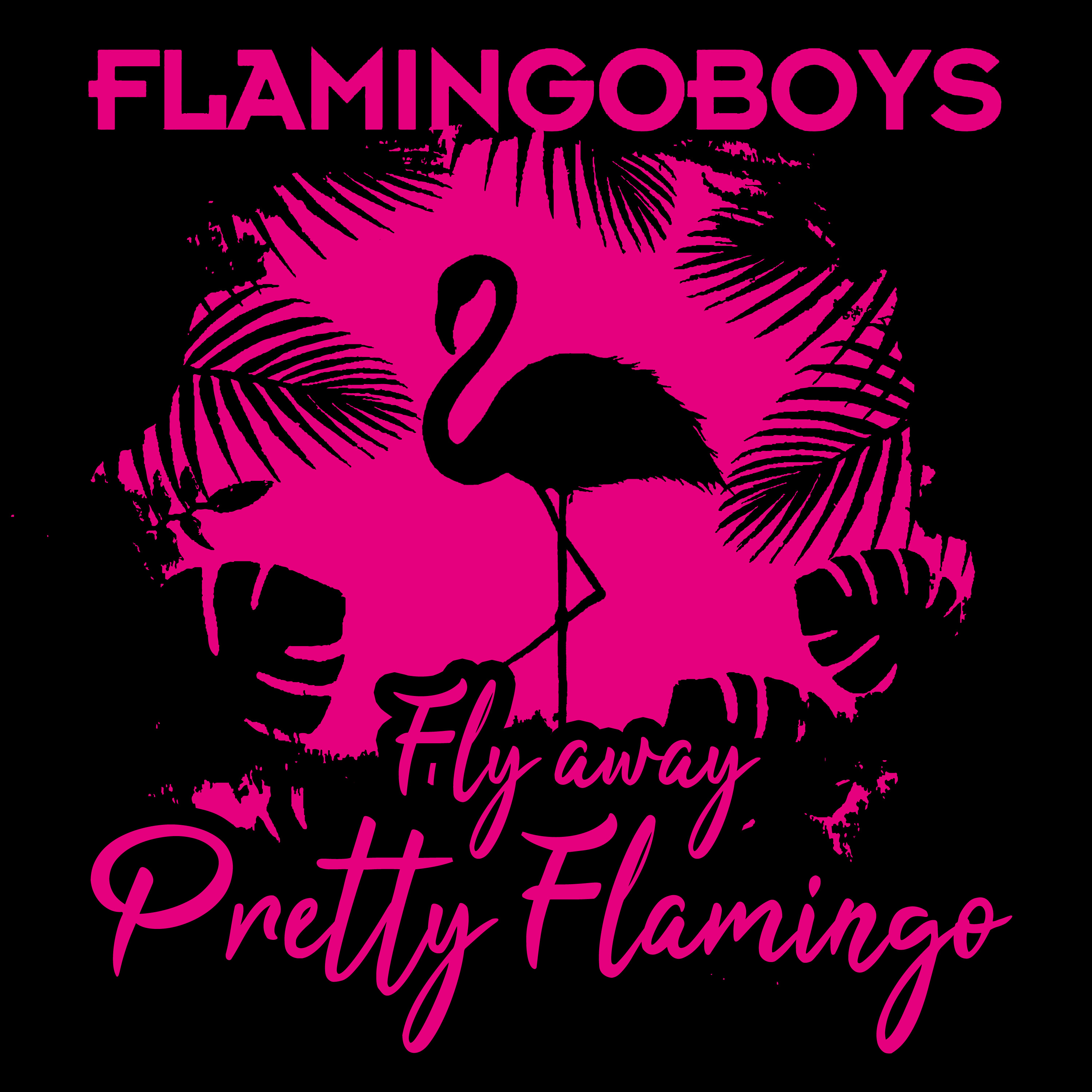 Fly Away Pretty Flamingo